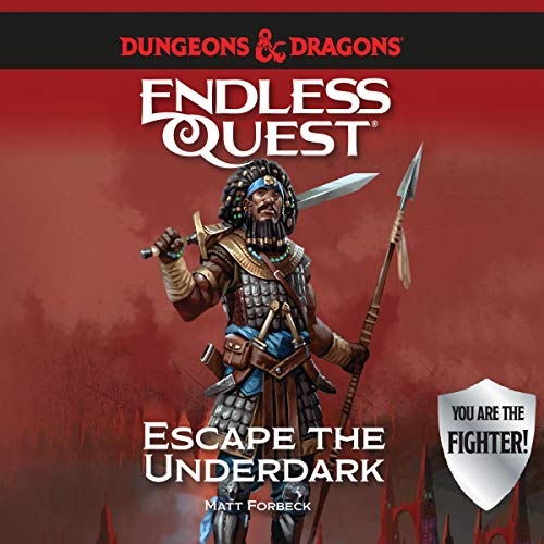 Dungeons & Dragons: Escape the Underdark audiobook cover art