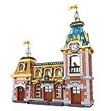 Mecotecn - Juego de 1046 piezas de bloques de construcción de arquitectura para patio de recreo, edificios modulares,...