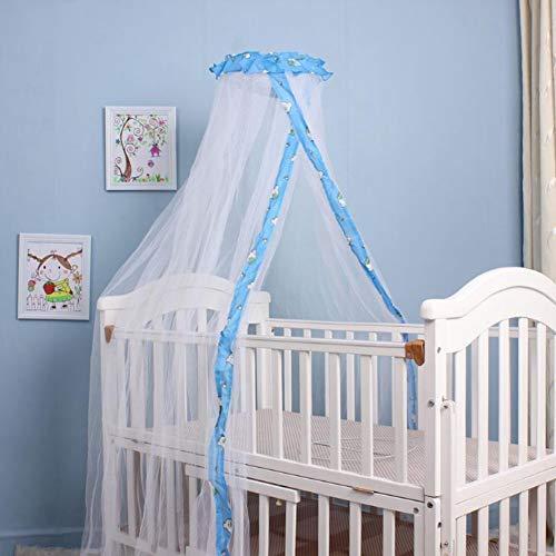 Zanzariera universale per lettino, protezione dagli insetti, a maglia fine, antistrappo, con elastico, rete antizanzare, lavabile, a maglia stretta, per camera da letto, per bambini e bambine
