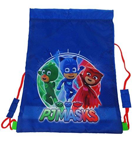P J Masks Trainer Bag Kinder Sporttasche 44 cm blau