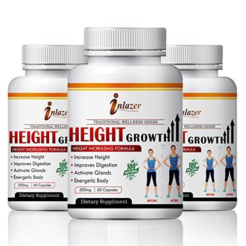 Height Growth herbal capsules 100% Ayurvedic (180)