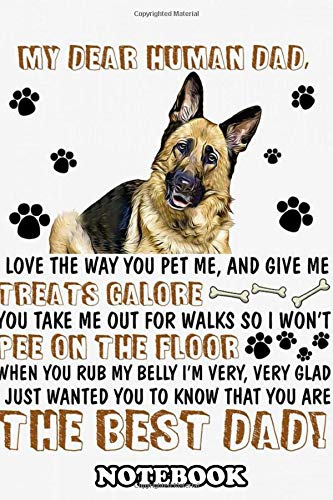 Notebook: German Shepherd Art 63 Poster Decor , Journal for Writing, College Ruled Size 6' x 9', 110 Pages