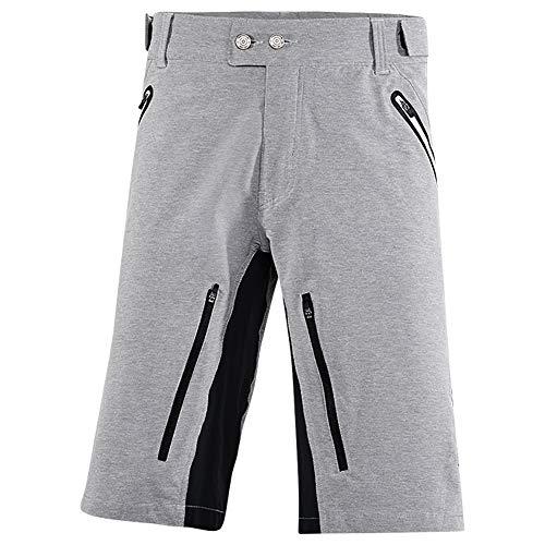 Protective Austin - Pantaloncini da Ciclismo da Uomo, Uomo, Corto, 211037, Grigio, XS