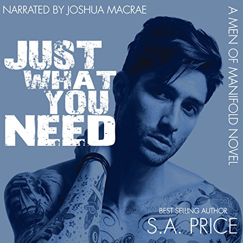 Just What You Need     Men of Manifold, Book 1              By:                                                                                                                                 S.A. Price                               Narrated by:                                                                                                                                 Joshua Macrae                      Length: 7 hrs and 40 mins     23 ratings     Overall 4.4