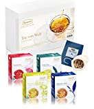 Ronnefeldt Tee Probierset / Tee Geschenkset 'Tee von Welt', 40 Teesorten lose (156 g) inkl. Teenetz