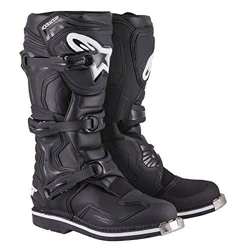 Botas de cross y enduro Alpinestars de piel Tech 1 7 negro