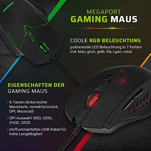 Megaport Gaming-PC Komplett-PC Intel Core i7-10700F • 24