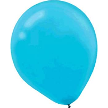 Carribbean Blue Pearl Latex Balloons Party Decor 180 Ct Amscan 113253.54