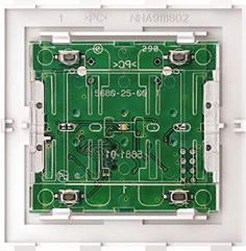 Merten Taster-Modul Bluetooth MEG5123-6000 2fach System Design System Design Bedienelement intelligent 4042811200473