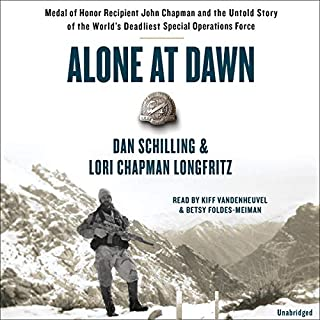 Alone at Dawn audiobook cover art