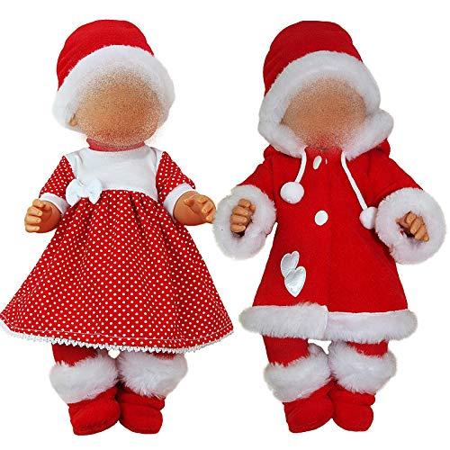 Kindabox Ropa para muñecas de hasta 43 cm (sin muñeca).