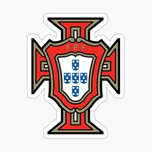 Portugal National Team - FPF Selecção Sticker - Sticker Graphic Decal for Cars Windows and Bumpers