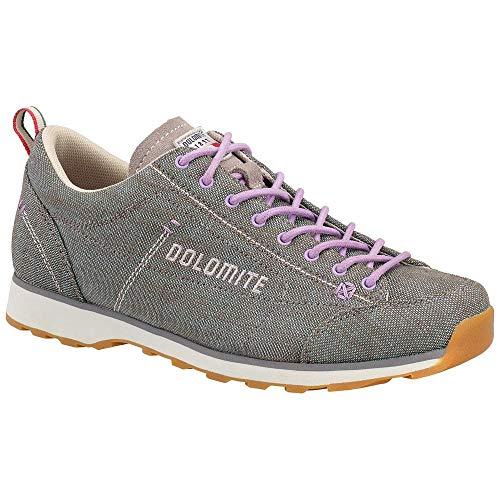 Dolomite Damen Zapato Schuh Cinquantaquattro LH Canvas WS, Gris/Violet Lila