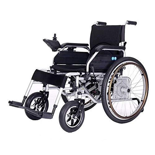 FTFTO Inicio Accesorios Silla de Ruedas eléctrica para Personas Mayores con discapacidad La batería de Litio de Alta Gama está diseñada ergonómicamente para Viajes incómodos