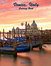 Venice, Italy Coloring Book (Volume 1)