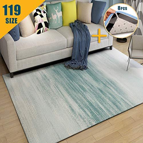 JRUI Home Affaire Teppich, Große Auswahl an Größen und Mustern Verfügbar, Robuster Teppich für Schlafzimmer, Flur, Jugendzimmer, Esszimmer,Wohnung, vorzimmer, Größe:80 x 300 cm