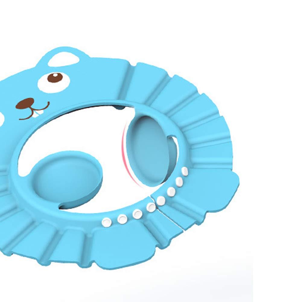 ConStore 3PCS Baby Shower Cap Adjustable Bathing Hat Infants Shampoo Hats Kids Bath Accessories Soft Protection Safety Visor Caps for Toddler Children