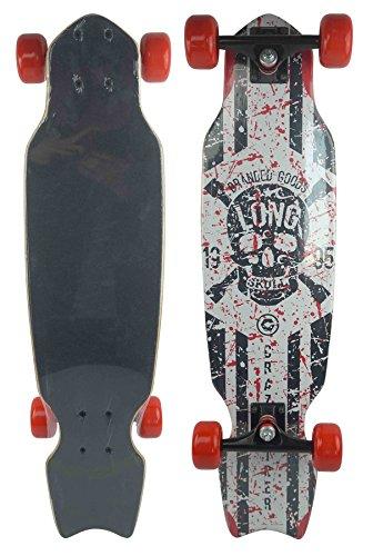 RT10 Playride 808659 Longboard 32   Legno, Skateboard di apprendimento, 32