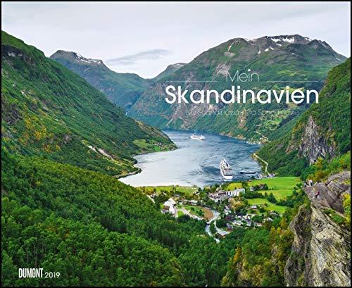 Mein Skandinavien 2019 – Wandkalender 52 x 42,5 cm – Spiralbindung