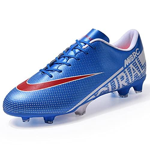 Zapatillas de fútbol NC para hombre, cómodas, T F/F G, ultraligeras, antideslizantes, impermeables, para entrenamiento al aire libre, zapatillas de deporte