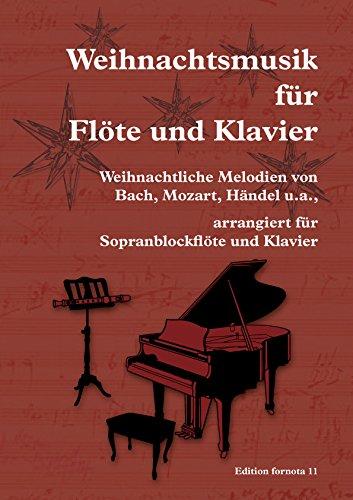 Weihnachtsmusik für Flöte und Klavier, Ef 11