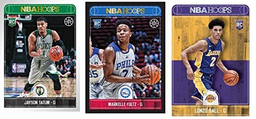 2017 - 2018 NBA HOOPS BASKETBALL - Complete Set of Cards - (Includes All Rookies & Stars)