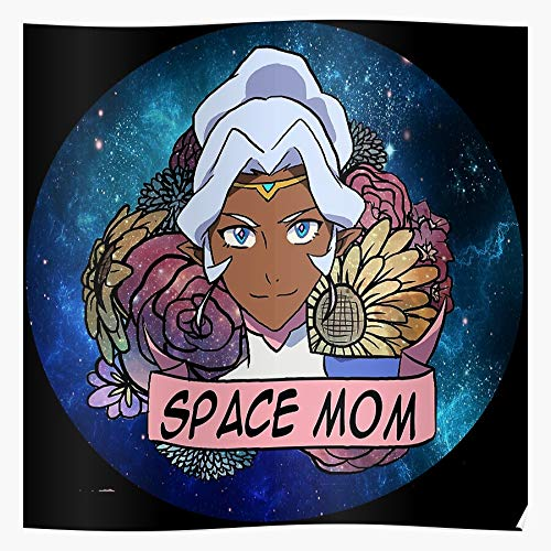 nastygal Legendary Galaxy Defenders Allura Space Flower Voltron Mom Das eindrucksvollste und stilvollste Poster für Innendekoration, das derzeit erhältlich ist