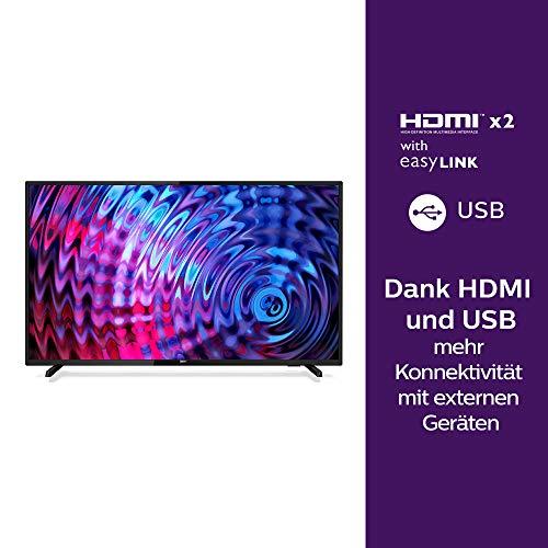 Philips 43PFS5503/12 Fernseher 108 cm (43 Zoll) LED TV (Full HD, HDMI, USB, Triple Tuner)