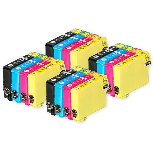 Go Inks Compatible Cartuchos de Tinta para reemplazar Epson 16 & 16XL Serie Non-OEM *Nueva Versi�n* (16 Tintas)