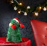 "infactory Singender, tanzender Weihnachtsbaum ""Swinging Xmas Tree"", 27 cm - 2"