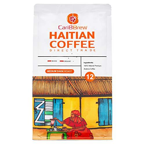 Caribbrew Organic Haitian Coffee BEANS - Medium Roast - Fairtrade