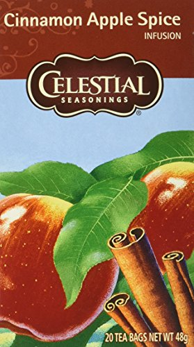 Celestial Seasonings Cinnamon Apple Spice, 6er Pack (6 x 48 g)