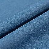 150 Cm Breit 100% Baumwolle Jeansstoff Leichte Jeansjacke