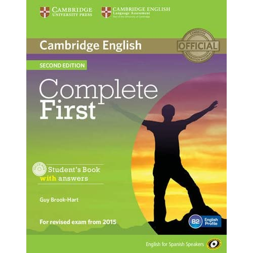 Complete First for Spanish Speakers Students Book with Answers ...