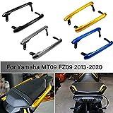 MT09 FZ09 kit di corrimano per manubrio del sedile del passeggero posteriore del motociclo della motocicletta per Yamaha MT FZ 09 MT-09 FZ-09 2013-2020 (Nero)