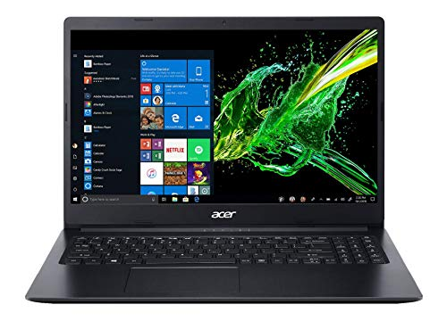 Acer Aspire 3 Thin A315-22 15.6-inch Laptop (A4-9120e/4GB/1TB HDD/Windows 10/AMD Radeon R4...