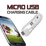 RVOUSA_Samsung Universal Micro USB Charging Data Cable for Samsung Galaxy S3 S4 Note 2 LG ETC - Non-Retail Package (White)