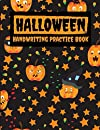 """Happy Halloween Handwriting Practice Book: Handwriting Practice Paper With lines for kids, Boys, Girls, 8.5""""x 11"""" 111 pages Pumpkin Halloween Cover"""