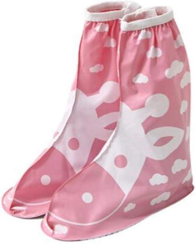 WUZHONGDIAN Shoe Cover Financial sales sale Direct stock discount Rainproof S Thick Wear-Resistant Non-Slip