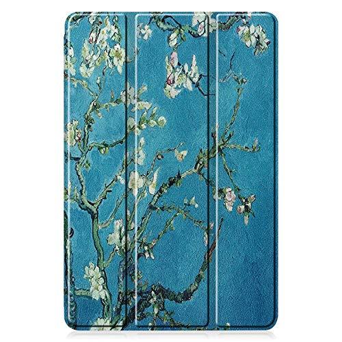 QiuKui Tab Funda para Samsung Galaxy Tab S6 Lite, TPU Lápiz Slot Tablet Funda PU Funda Protectora para Samsung Galaxy Tab S6Lite 10.4 P610 P615 (Color : Pattern 3)