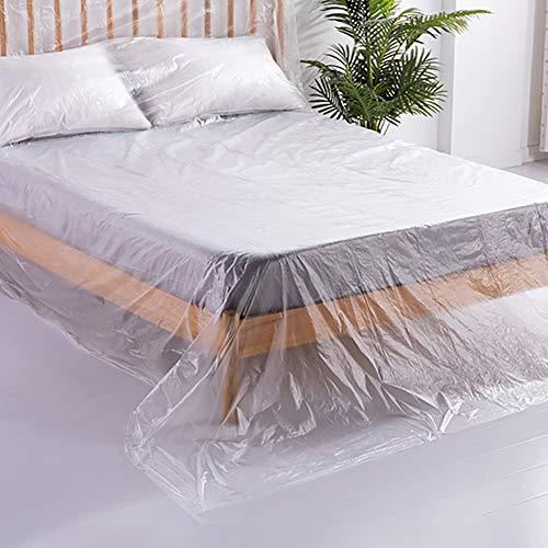 BCGT Heavy Duty PE a prueba de agua ya prueba de polvo Sofá cama, cubiertas de almacenamiento Refugio Sofá Sofá Muebles cubierta del protector, al trasladar protección y almacenamiento a largo plazo -