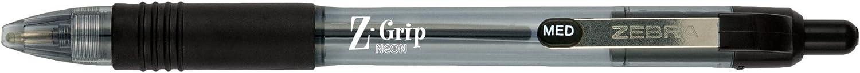 Zebra Z-Grip Neon Retractable Ballpoint Pen, 1.0mm, 1.0mm, 1.0mm, schwarz, (22910) by Zebra Pen B00ATZJ7WI | Verrückte Preis  ff7174