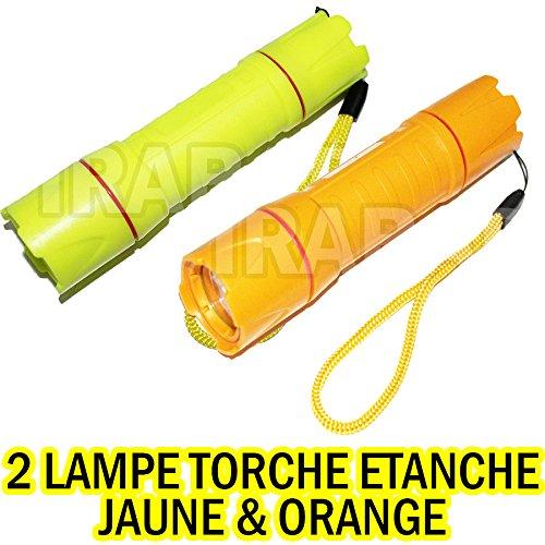 Lot DE 2 Lampe Torche DE Plongee Marin Etanche A 50M 2000 LUMENS CREE LED XL-M T6