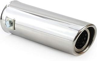 Auspuffblende Endrohr Endstück Auspuffendrohr Edelstahl Rund 54 mm für Auspuffrohr 30 45 mm UNIVERSAL Neu MT002