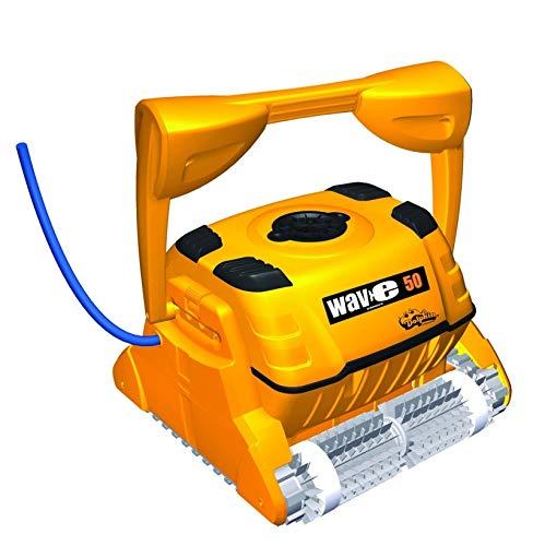 Dolphin Wave W50 - Limpiador Profesional para Robots de Piscina, hasta 20 m, Fondo y...