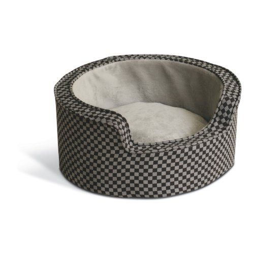 K&H Pet Products Self-Warming Round Comfy Sleeper