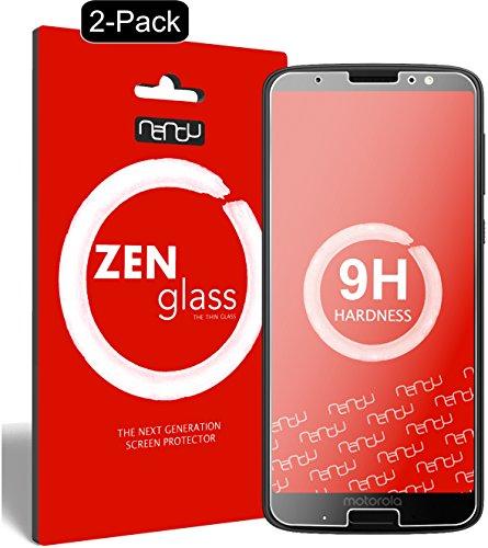 ZenGlass [2 Stück Flexible Glas-Folie kompatibel mit Lenovo Moto G6 Plus Panzerfolie I Display-Schutzfolie 9H I (Kleiner Als Das Gewölbte Display)