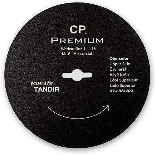 Für Tandir 120 mm Kreismesser mit Teflonbeschichtung Glatt Dönermesser Kebapblade