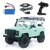 GoolRC MN-D90 Rock Crawler 1/12 4WD 2.4G Remote Control High Speed Off Road Truck RC Car Led Light RTR