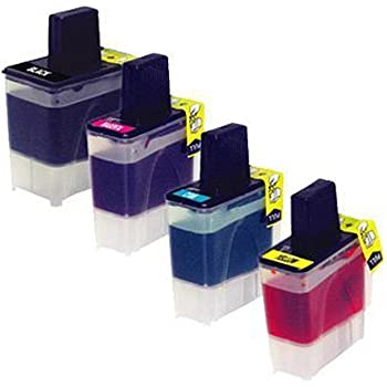 1940CN 5440CN InkSurf Compatible Ink Cartridge Replacement for Brother LC41BK 5840CN 3240C Black MFC210C 420CN 3340CN 2440C Works with: Fax 1840C 620CN